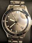 Blancpain Fifty Fathoms Bathyscaphe Grey Sunburst Dial on Bracelet Complete Set
