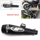 51mm Metal Exhaust Muffler Tail Pipe Slip on Motorcycle Dirt Bike Scooter Ideal