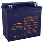 VMAX XCA200R14 SCOOTER BATTERY UPGRADE Kymco 500cc Xciting 500i 2009 16 12V 14ah