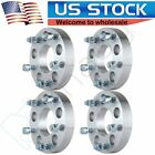 4Pc 125 32mm 5x5 to 5x55 Wheel Spacers Adapter For 97 02 Chevy Express 1500