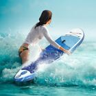 10 Foot Inflatable Stand Up Paddle Board Travel Backpack Adj Paddle And More