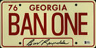 Burt Reynolds Signed Smokey and the Bandit License Plate - Ban One Beckett BAS 2