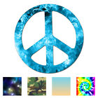 Peace Sign Vinyl Decal Sticker Multiple Patterns  Sizes ebn941
