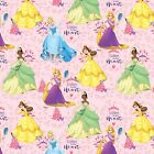 Disney Princess Listen To Your Heart 100 Cotton Fabric by the Yard