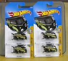 2017 Hot Wheels 4 VW Mooneyes Kool Kombi NEW Unopened MOC