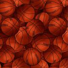 Packed Sports Basketball Premium 100 Cotton Fabric by the yard