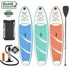 Double Water Toys 10 Inflatable Stand Up Paddle Board SUP SET with BackpacWX