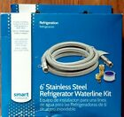 Smart Choice Stainless Steel 6' Refrigerator Waterline Kit