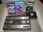 Mattel Intellivision with 4 games and voice module Working