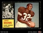 Jim Brown Football Cards, Rookie Cards and Autographed Memorabilia Guide 4