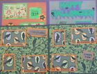 12X12 MISC LOT OF 4 HALLOWEEN PREMADE SCRAPBOOK PAGES LAYOUTS MSND TONYA