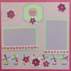 12X12 PLAY PURPLES GIRL PREMADE SCRAPBOOK PAGE LAYOUT MSND TONYA
