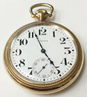 E Howard 1317689 Railroad Chronometer Pocket Watch 21 Jewels USA Series 11