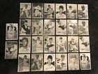 Lot Of (26) Topps 1969 Deckle Edge Cards