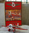 Ertl WINGS OF TEXACO 1930 MODEL R Mystery Ship Diecast Toy Airplane COIN BANK