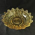 Vintage Golden Yellow Federal Pressed Glass