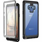 Samsung Galaxy Note 9 Case, Full-body Rugged Clear Bumper Case With Kickstand...