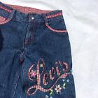 Levis Girls Vintage Capri Gingham Accents Collectible See Measurements For Size