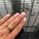Beautiful Ring Phra Lp Kuay Yantra Amulet Love Luck Rich Attract Protect Size 9