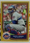2018 BIG LEAGUE GOLD PARALLEL CARD OF TRAVIS D'ARNAUD NO. 45