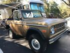 1974 Ford Bronco Ranger 1974 ford bronco early version mostly stock RANGER MODEL