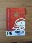 Parks Canada Discovery Pass F/G August  08/2019 - Kanada Nationalparks, 1 Auto