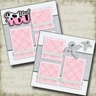 BOOTIFULLY YOU 2 Premade Scrapbook Pages EZ Layout 3442