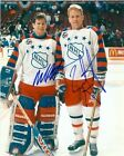 Brian Leetch and Mike Richter Autographed 8x10 Photo (1994 New York Rangers) #1