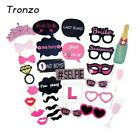 30pcs/set Funny Party Supplies Bride To Be Paperboard Glasses Wedding Decoration