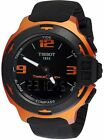 Tissot T-Race Black Touch Dial Silicone Strap Men's Watch T0814209705703
