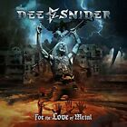 2018 JAPAN CD DEE SNIDER FOR THE LOVE OF METAL W/ BONUS TRACK FOR JAPAN