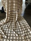 Antique Lace Crochet Bedspread Coverlet Throw or Table cloth Hand made European?