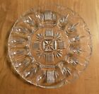 Beautiful Heavy Vintage Federal Glass Georgetown Clear Deviled Egg Dish