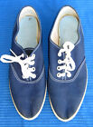 Vintage 60s Dead Stock Blue Keds Style Tennis Shoes Sneakers Size 6 1 2 Unworn