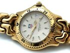 TAG HEUER PROFESSIONAL SERIES 200M GOLD FILLED 37mm Bracelet SERVICED WG1130-0