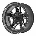 XD Series 17x9 XD827 Rockstar III Wheel M Black Machined 5x45 1143 5 127 12