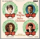 VARIOUS ARTISTS - WE WISH YOU A MERRY CHRISTNAS  - EP 45rpm + P/S  (SET2)