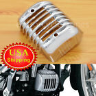 Chrome Voltage Regulator Cover Protector Fairing For Harley Softail FXSB 01-17