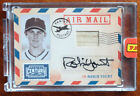 Robin Yount 2010 Panini Century Air Mail Autograph #8 25 Milwaukee Brewers Auto