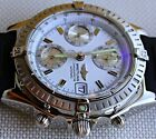 MEN'S BREITLING CHRONOMAT 13352 SWISS AUTOMATIC WATCH in BOX NO Reserve Auction