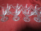 8 Anchor Hocking Boopie Glass Sherbets Glasses 3 1/2