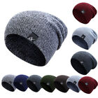 US Unisex Beanie Knit Ski Cap Hip-Hop Blank Winter Warm Outdoor Sport Hats