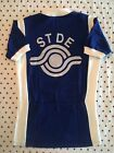 50 M Vintage 1970s FRENCH Flocked Acrylic CYCLING JERSEY Randonneur EROICA Vegan