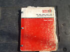 Case INTERNATIONAL 766 966 1066 1466 1468 and Hydro 100 TRACTORS MANUAL CATALOG