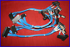 Lot of 5 Dell Foxconn PowerEdge 840 SAS Hard Drive Cable 4 Ports HDD CJ027