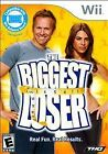 Biggest Loser Nintendo Wii WII U GAME COMPLETE WORKOUT RECIPES LOSE WEIGHT CIB