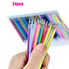 122436 Pcs Colorful Gel Pen Refills Set For School Sketch Marker Art Pen Mark