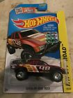 2014 HOT WHEELS SUPER TREASURE HUNT TOYOTA OFF ROAD TRUCK RED FACTORY SEALED