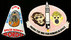 Space Monkey Gordo patch astronaut Army NASA rocket Cape Canaveral