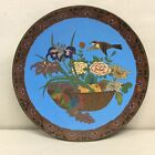 Japanese Cloisonne Charger 12